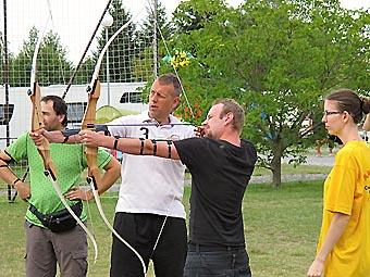 Archery campingsite Prague